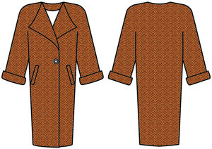 выкройки женского пальто рукав реглан
