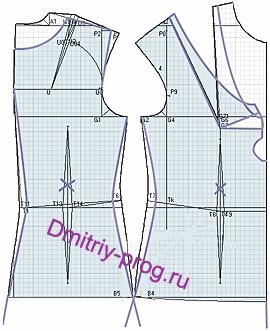 Трикотажное платье с молнией впереди