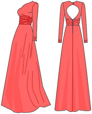 Как сшить втачной пояс в платье